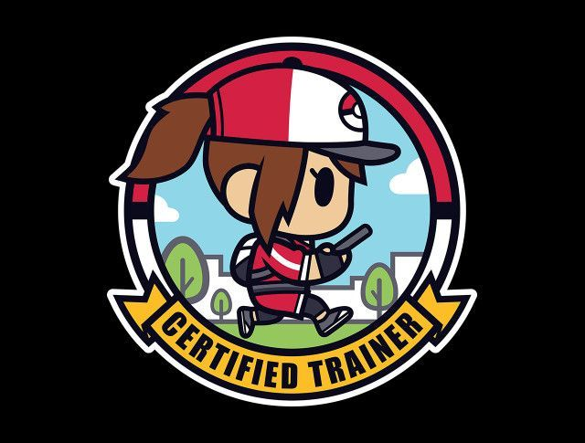 Certified Trainer - Girl T-Shirt - Pokémon Go T-Shirt is $15 at TeeFury!