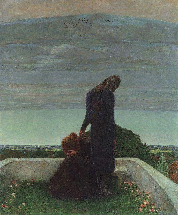 Heinrich Vogeler, Addio, 1898