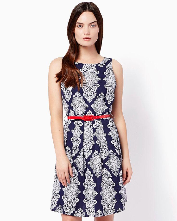 Summer dress blue charlies