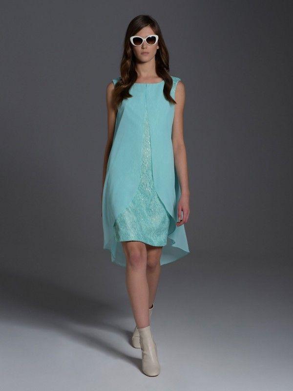 #dress #lace #blue #mint #springsummercollection #laf #lamedefemme #eyeforfashion #springsummer2017 #lookbook