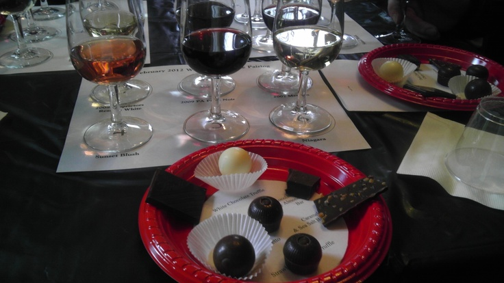 Wine and food pairings - Chadds Ford for Valentine's Day!