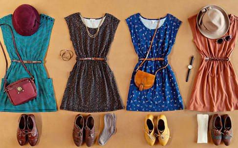 Great vintage dress outfits.