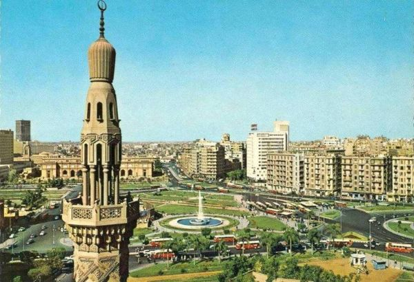 Tahrir Square in the 1960s