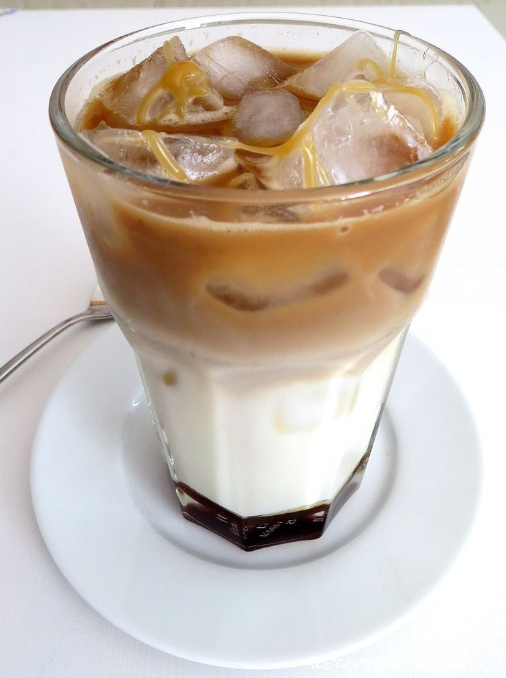 Rezepte mit Herz ♥: Iced Caramel Macchiato a la Starbucks