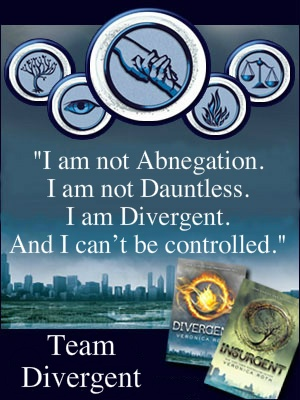 I Am Divergent and I can't be controlled!