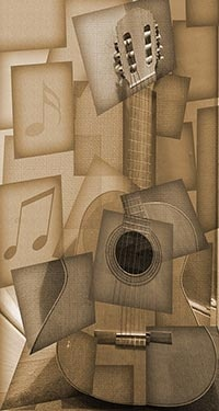 ,,,cubism guitar
