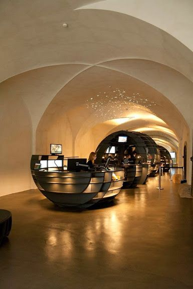 Rolling Stones, Graz Tourismus Information, Graz, Austria by INNOCAD Architektur