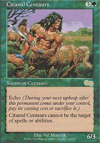 Citanul Centaurs from Urza's Saga at TCGplayer.com as low as $0.20