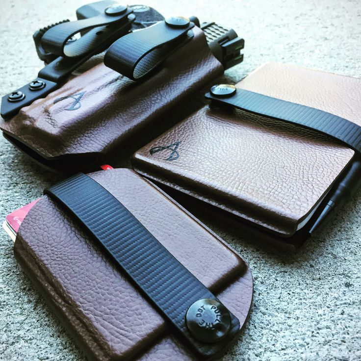 Vita EDC Wallet, Travel Wallet, and Custos IWB Holster from Armatus Carry Solutions. www.armatuscarry.com