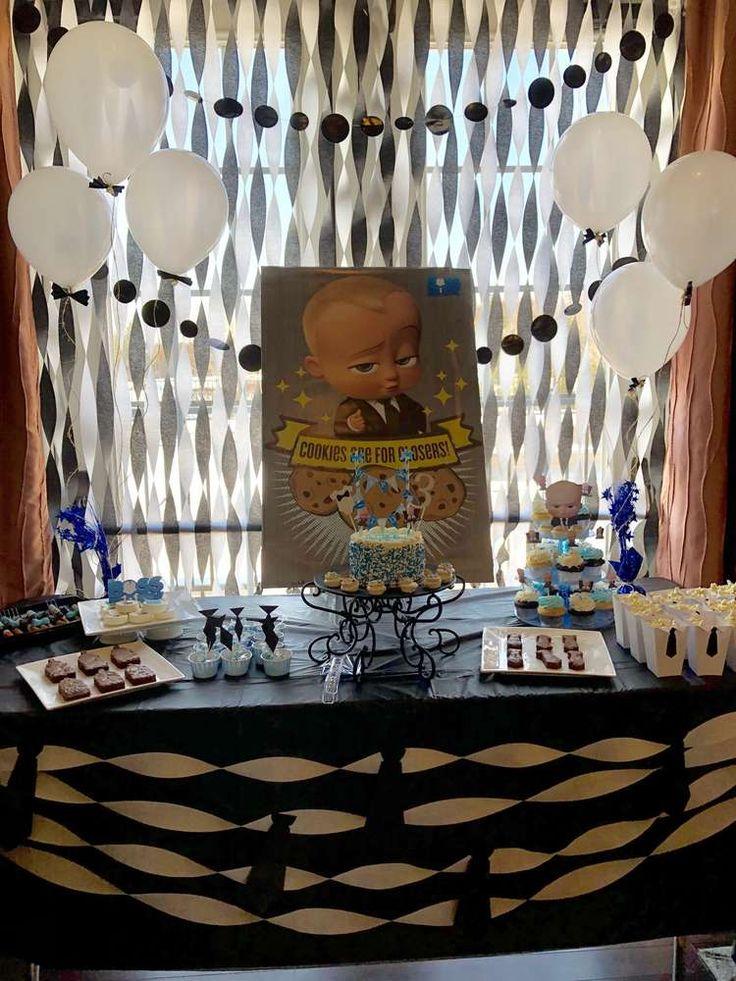 Boss baby Birthday Party Ideas   Photo 1 of 17