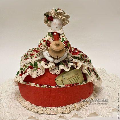 Кукла Грела на чайник Текстильная кукла ручная работа. Подарок на день рождения, новоселье Для дома, для интерьера кухни Уютный дом Омилаева Юлия