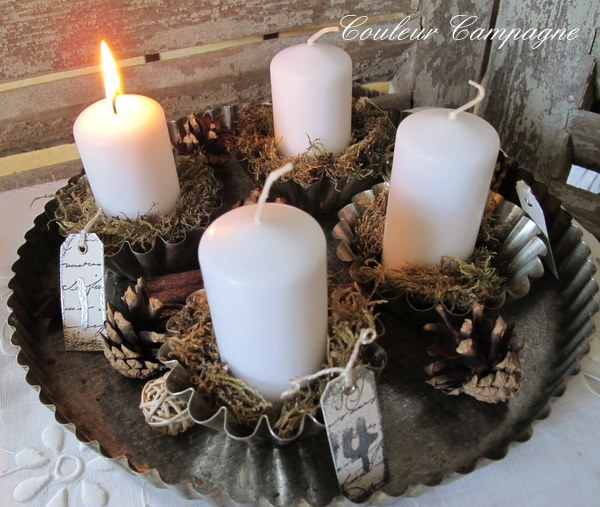 17 best ideas about advent candles on pinterest advent for Advent candle decoration