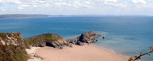 Pembrokeshire Coast Path National Trail, 186 miles
