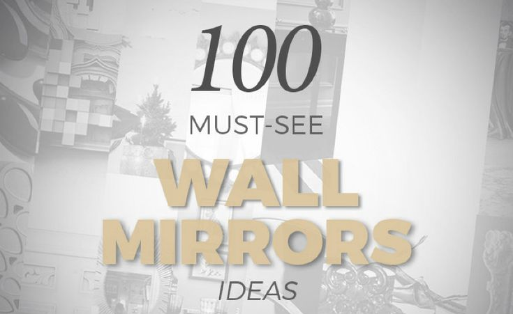 Find 100 Must-See Wall Mirrors in an Inspirational and Free Ebook, see more at : http://www.wallmirrors.eu/100-must-see-wall-mirrors-inspirational-free-ebook/