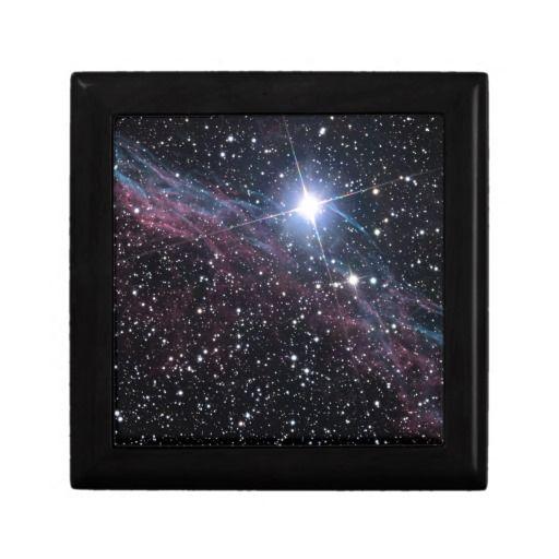 Veil Nebula jewelry gift box