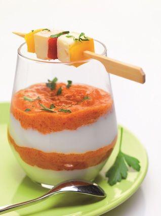 Mousse+de+Reblochon++aux+poivrons+rouges