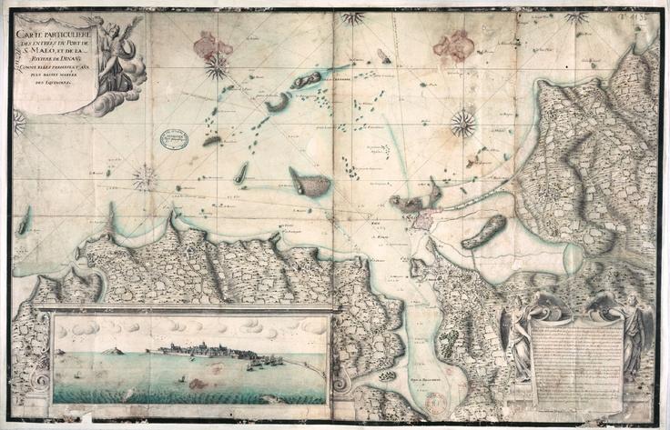 Entrée du Port de Saint Malo vers 1700: Brittany History, Malo Verses, Du Port, Verses 1700, Entrance, Saint Malo, Ver 1700, St., Brittany