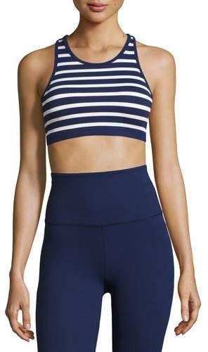 837e43e5c0 Beyond Yoga Sailing Stripe Sports Bralette