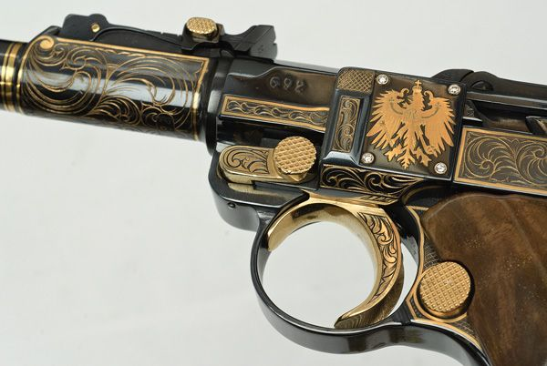 Awesome Pistol with cool carvings