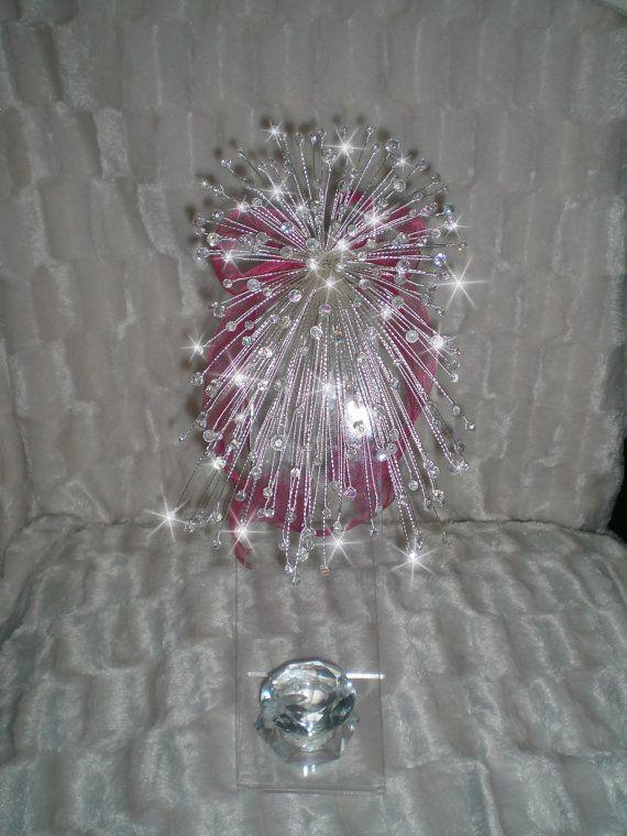 Swarovski elements Crystal bouquet Wedding by CrystalWeddingUK
