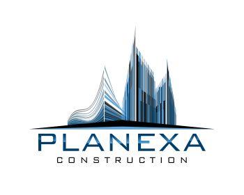 Planexa Construction at https://www.LogoArena.com - logo by Alma4graphics