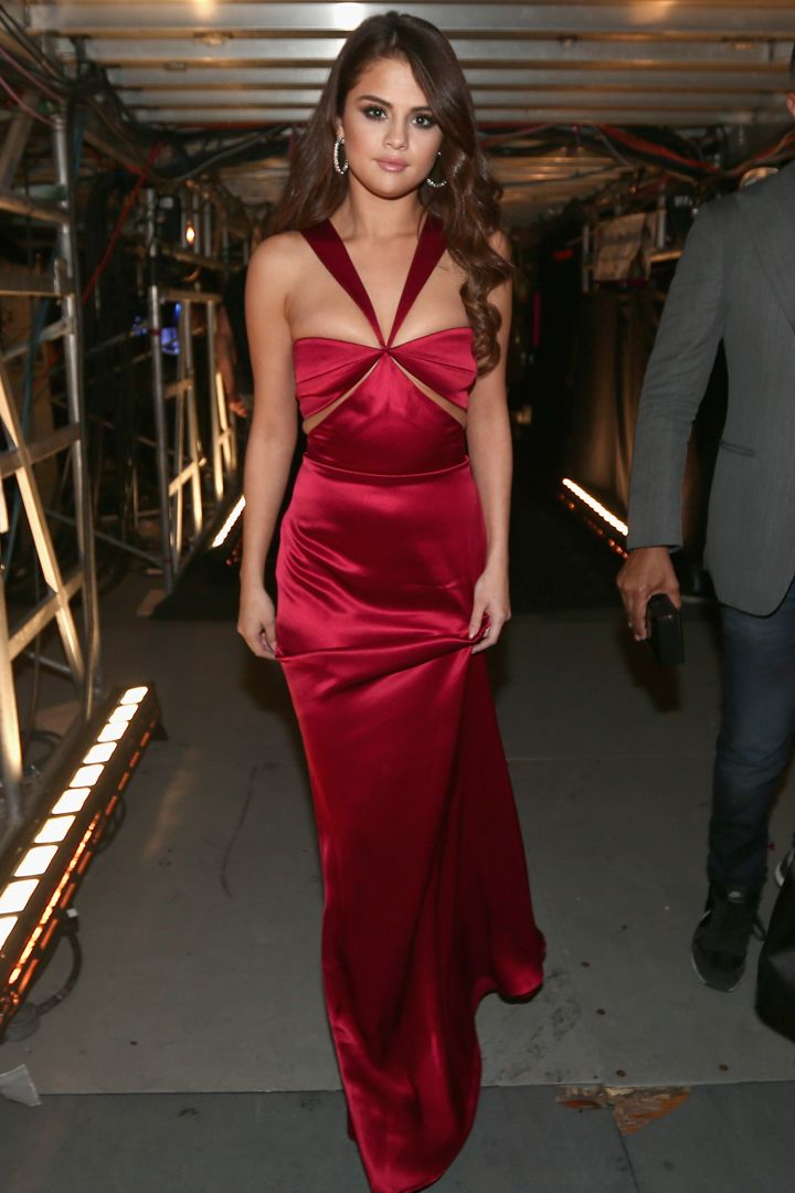 Selena Gomez Is the First Star to Wear a Fall '16 Dress — Right Off the Runway