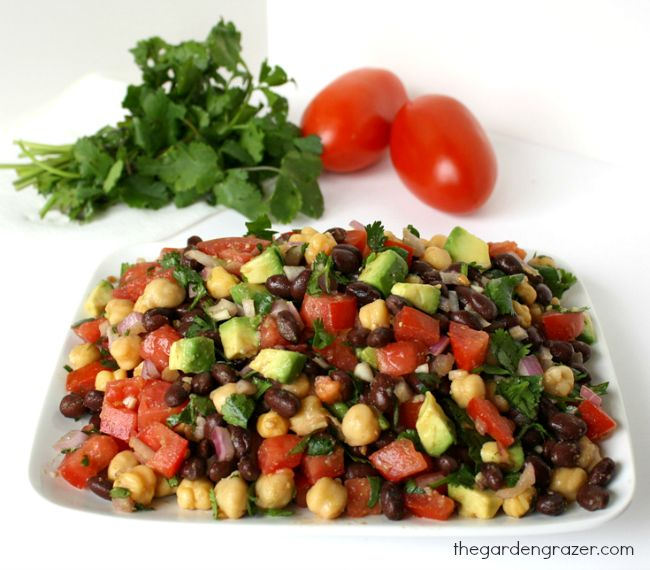 The Garden Grazer: Fiesta Bean Salad