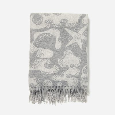 Svenskt Tenn merino/cashmere plaid Aristidia grey