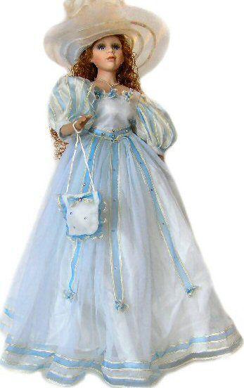 Victorian Porcelain Doll-Unique doll-Porcelain Victorian Doll-Adesina