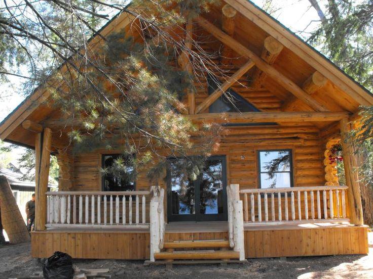 The Robert S Log Cabin By Natural Log Cabins Of Michigan