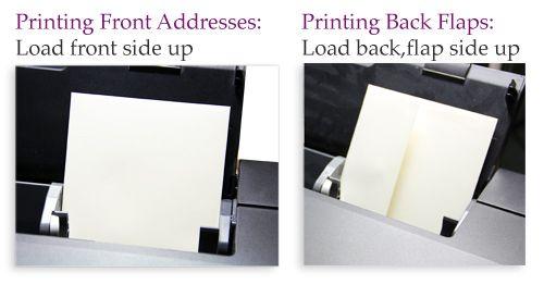 Home envelope printing - how to load envelopes into printer #DIYPrinting #DIYEnvelopes