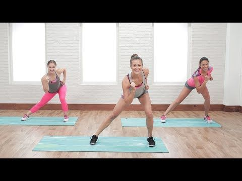 15-Minute Beginner's Low-Impact Cardio Workout | Class FitSugar - YouTube