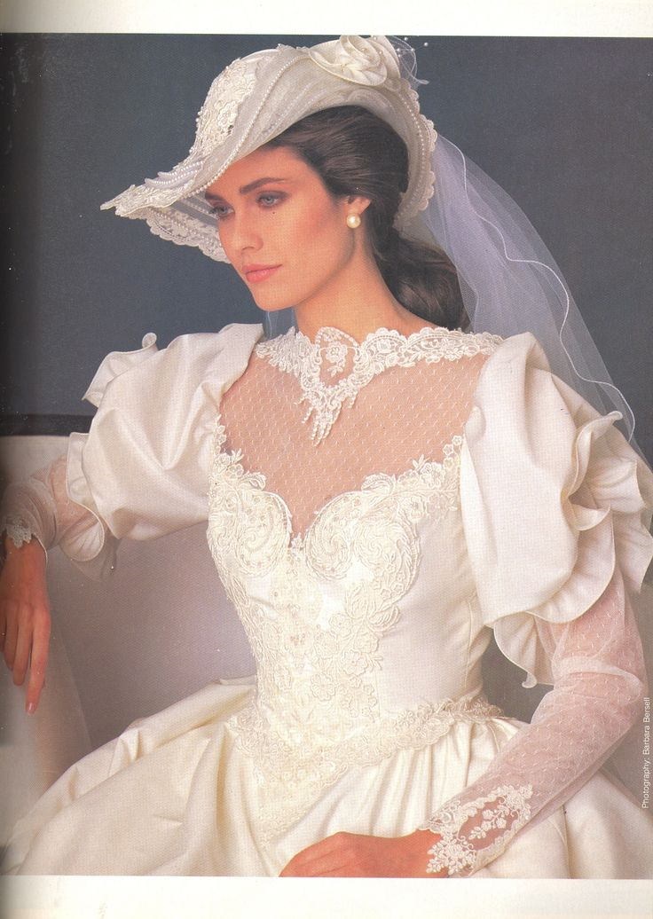 25 best ideas about 1980s wedding dress on pinterest for Dress hats for weddings