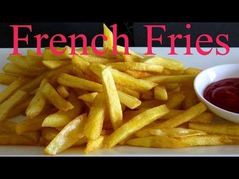 КАРТОШКА ФРИ Секреты приготовления Хрустящий картофель фри FrenchFries Khoai Tây Chiên #LudaEasyCook - YouTube