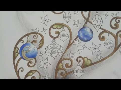Johannas Christmas Colouring Tutorial Part2