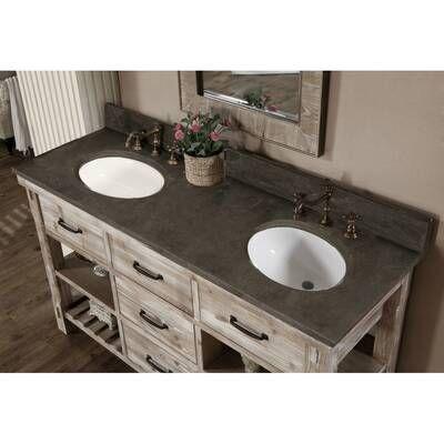 Porcelain Wood Look Wall Floor Tile, Double Porcelain Bathroom Sink