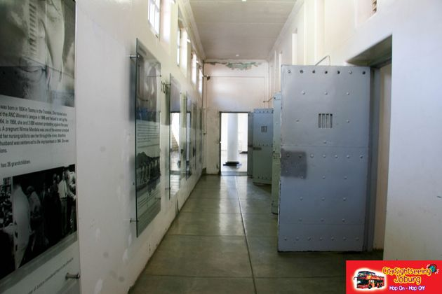 Isolation Cells. http://citysightseeing-blog.co.za/2014/07/24/you-strike-a-woman-you-strike-a-rock-johannesburg/
