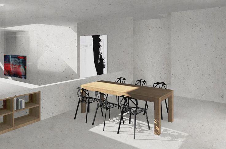 Abschlussarbeit: Wohnen + Kunst, Christian Busch, Hochschule für Technik, Wirtschaft und Gestaltung Konstanz - Campus Masters | BauNetz.de