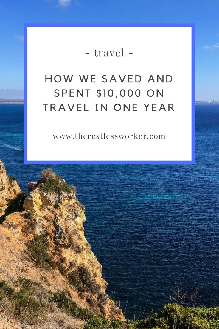Looking to save more money to travel? Here's how we saved and spent over $10,000 last year without sacrificing our lifestyle