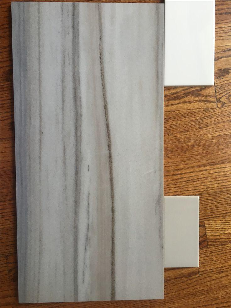 Gray Kitchen Backsplash Kidkraft Deluxe Big & Bright 53100 Floor, Long Wall Of Tub-daltile Marble Attache, Turkish ...