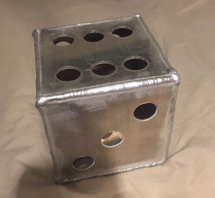 Huge aluminum dice #dice #aluminum #welder #welding #weldporn #fabrication by zodie_arc_welds http://ift.tt/1pldzdD
