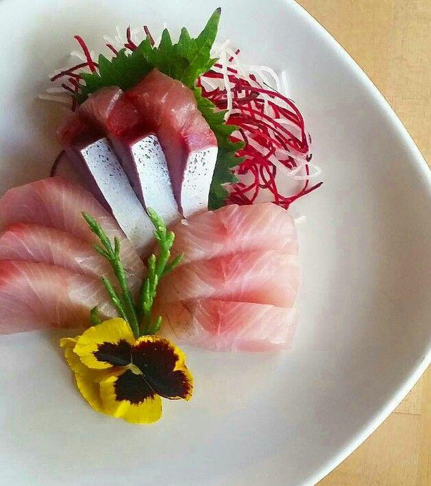 Hamachi, Kampachi, Hiram...3 different Yellowtail Sashimi