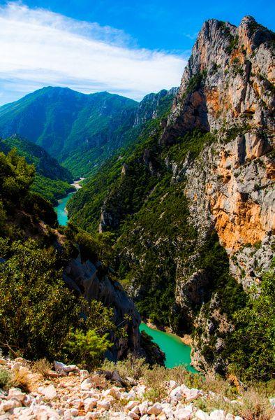 Verdon Gorge, Provence France