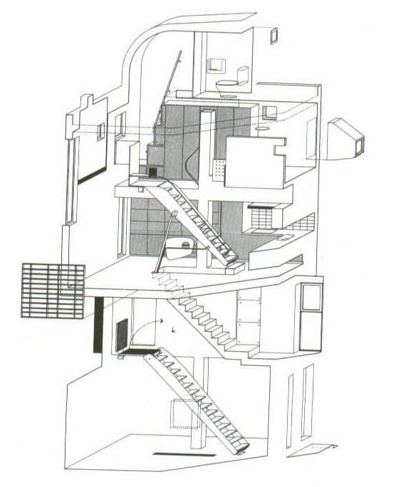 Bartlett Year 1 Architecture Diary: Peter Wilson : Drawings Suzuki House