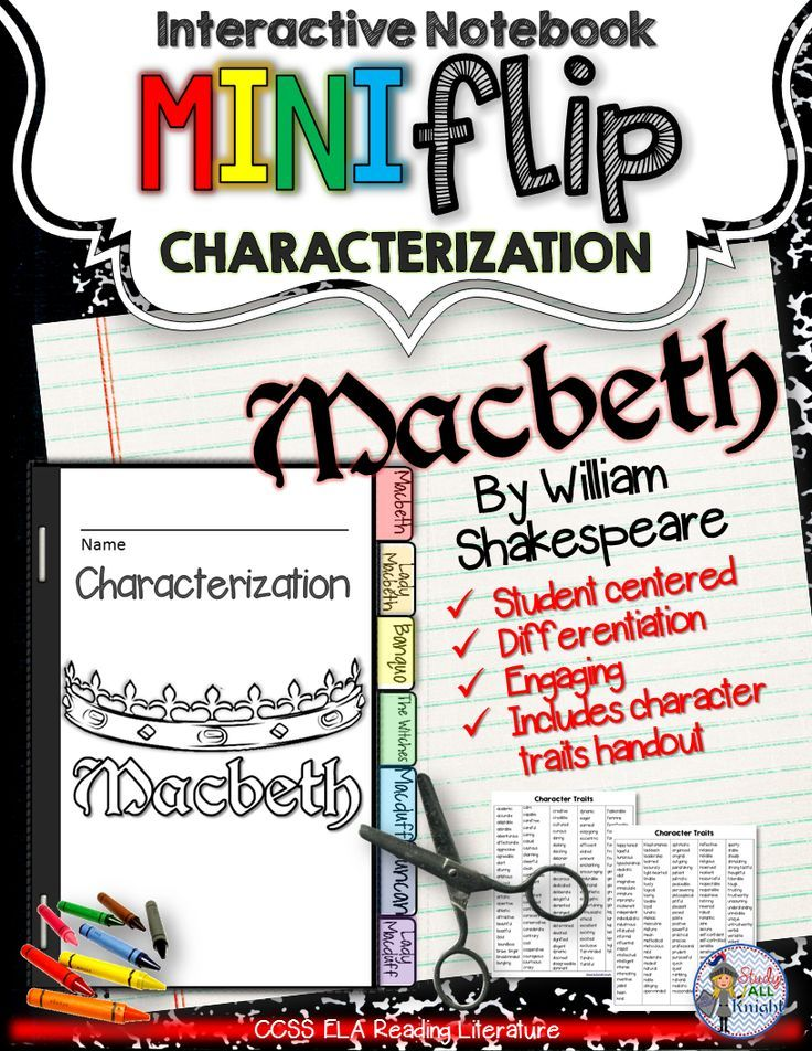 an analysis of the characterization of macbeth in macbeth by william shakespeare Androgyny in the characters of macbeth and lady macbeth essay  analysis of  macbeth by william shakespeare at the conclusion of the play, malcolm refers.