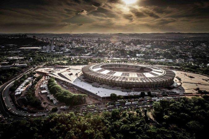 Estádio Governador Magalhães Pinto - Mineirão - MG - Brasil