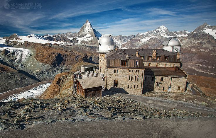 Gornergrat Matterhorn Alps Switzerland.