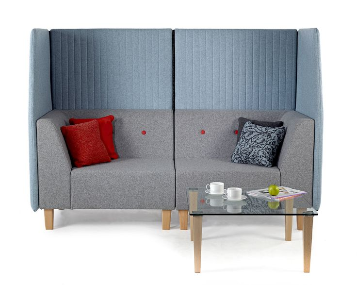 Elements Core And Plus, modular sofa units with retro fitted panels