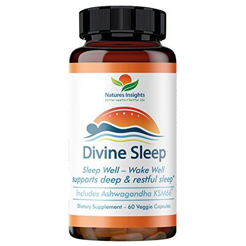 Divine Sleep: Best Natural Sleep Aid. Sleep Well – Wake Well Includes Ashwagandha, Melatonin, Valerian, Magnesium & More To Support A Positive Sleep Cycle - 60 Veggie Caps. #Divine #Sleep: #Best #Natural #Sleep #Aid. #Well #Wake #Includes #Ashwagandha, #Melatonin, #Valerian, #Magnesium #More #Support #Positive #Cycle #Veggie #Caps.