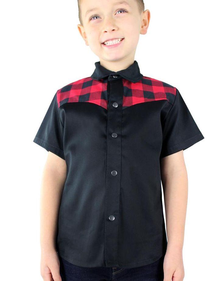 Red & Black Western Shirt – Bump & Bunny